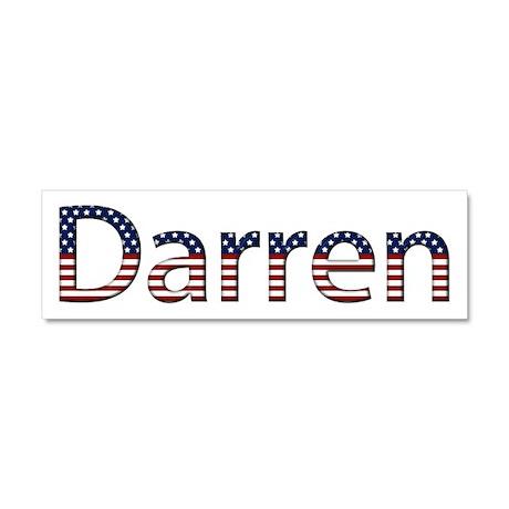 Darren Stars and Stripes 10x3 Car Magnet