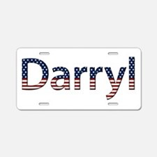 Darryl Stars and Stripes Aluminum License Plate