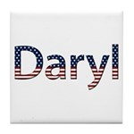 Daryl Stars and Stripes Tile Coaster