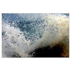 p2511. wavecrash, downcape Poster