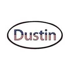Dustin Stars and Stripes Patch