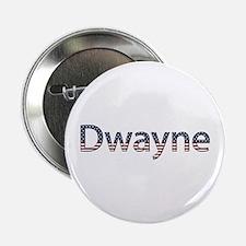 Dwayne Stars and Stripes Button