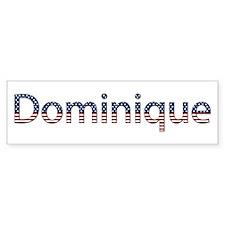 Dominique Stars and Stripes Bumper Bumper Sticker