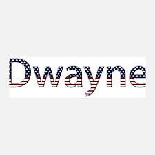 Dwayne Stars and Stripes 42x14 Wall Peel