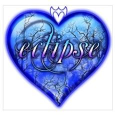 Eclipse Heart Poster
