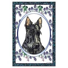 Scottish Terrier Designer Poster