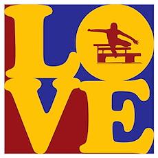 Hurdling Love Poster