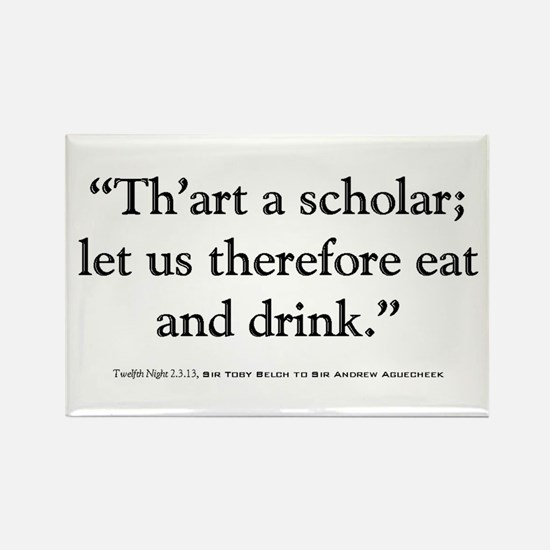 Twelfth Night Quote Magnet
