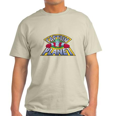 Captain Planet Logo Light T-Shirt