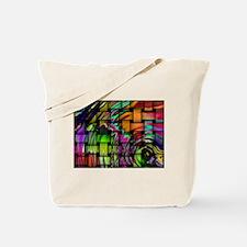Psychedelic Wonders Tote Bag