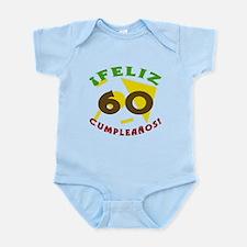 Feliz Cumpleaños (60) Infant Bodysuit