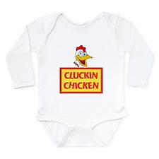 Cluckin Chicken Long Sleeve Infant Bodysuit