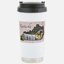 Cute Kentucky Travel Mug