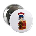 "Cute Roman Soldier 2.25"" Button (10 Pk)"