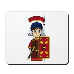 Cute Roman Soldier Mousepad