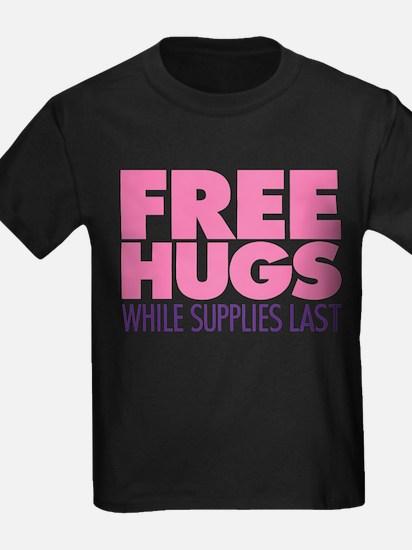 Free Hugs Pink T