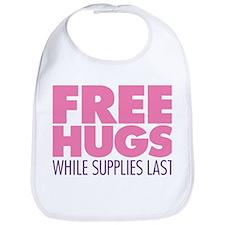 Free Hugs Pink Bib