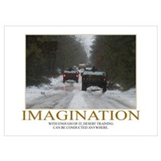 Imagination Motivational Poster