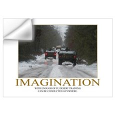 Imagination Motivational Wall Decal