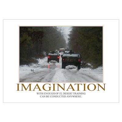 Imagination Motivational Poster