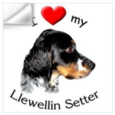 Llewellin Setter Wall Decal