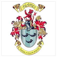 Holmes Crest Poster
