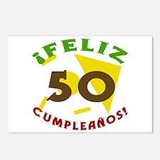 Feliz Cumpleaños (50) Postcards (Package of 8)