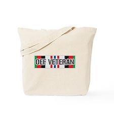 OEF Veteran Ribbon Tote Bag