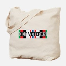 OEF Veteran Ribbon Tote Bag
