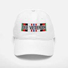 OEF Veteran Ribbon Baseball Baseball Cap