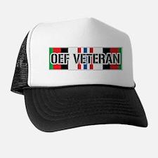 OEF Veteran Ribbon Trucker Hat