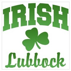 Lubbock Irish Poster