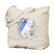 Little Paws, Big Steps! Tote Bag