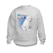 Little Paws, Big Steps! Sweatshirt
