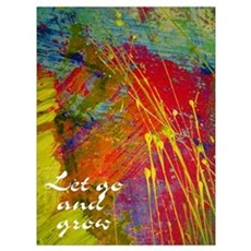 "RECOVERY ""Let Go"" 12 Step P Canvas Art"