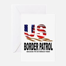 US Border Patrol Greeting Cards (Pk of 10)