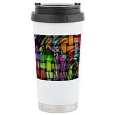 Psychedelic Wonders Travel Mug