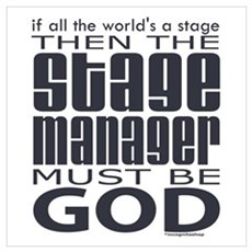 Stage Manager God Canvas Art