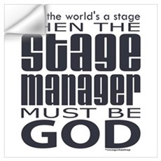 Stage Manager God Wall Decal