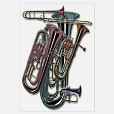 Cute Tubas Wall Art