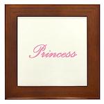 Princess Framed Tile