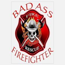 Bad Ass Firefighter