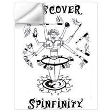 Discover Spinfinity Wall Decal