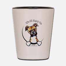 Funny Boxer Shot Glass