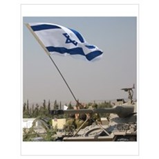 Our Flag Our Land Israel Poster