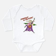 Supercow al Rescate Long Sleeve Infant Bodysuit