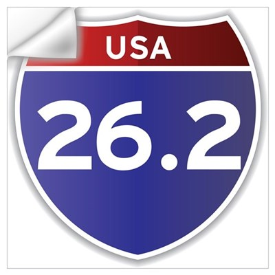 USA 26.2 Wall Decal