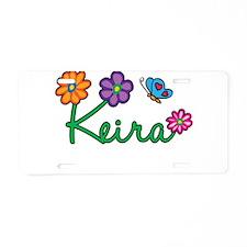 Keira Flowers Aluminum License Plate