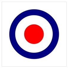 Mod Roundel Poster