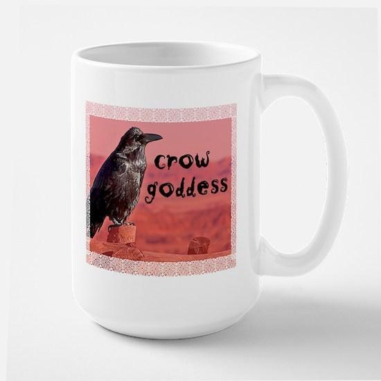 Crow Goddess Large Mug